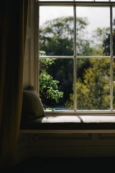 Flora's Cottage. Flora's Cottage is the living-diary of an old soul, revealing a deep-rooted love of the land and a vanishing way of living. Mourning Dove, Looking Out The Window, Paris Arrondissement, Cottage, Window View, Window Seats, Through The Window, Slow Living, My Dream Home