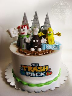 The Trash Pack Cake