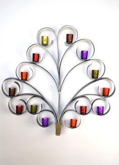 Wine Barrel Ring Tree Top Wall Art by winecountrycraftsman on Etsy, $300.00