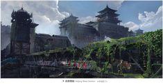 Bei Jing 02 by 手指断了 a on ArtStation.
