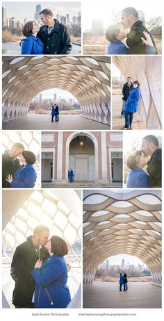 Stunning Chicago engagement session at Lincoln Park Zoo | Lincoln Park engagement | Chicago engagement photos | urban engagement photos | winter engagement photos | Light Source Photography of Wisconsin