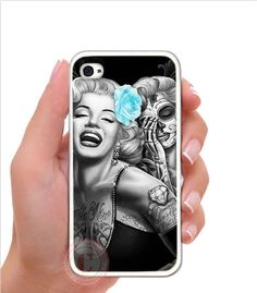 Marilyn Monroe iPhone 5 White Plastic/Rubber by BodegaOnMadison, $12.99