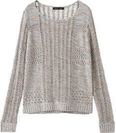 Cool sweater for summer evening / ShopStyle(ショップスタイル): Kai Lani (カイラニ) Mix Knit