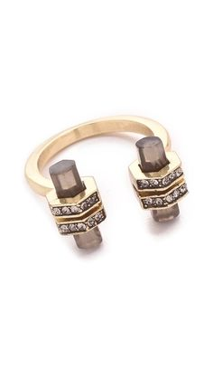 House of Harlow 1960 Chrysalis Ring