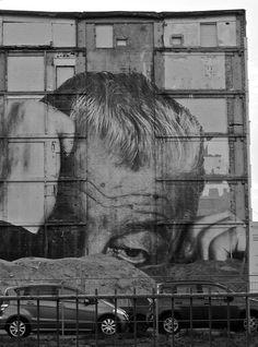 That's Berlin  Gertraudenstr., Berlin Mitte =  mailart  art  collage