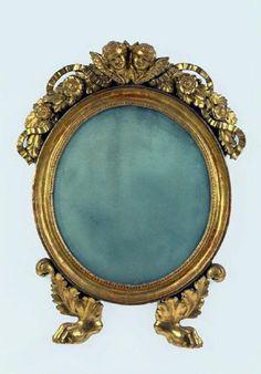 little gilt mirror Antique Picture Frames, Antique Frames, Antique Mirrors, Mirror Pic, Diy Mirror, Michelangelo, Framed Art, Art Decor, Illustration