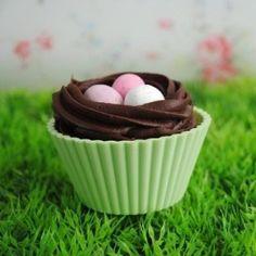 Nest Cupcake. So adorable!