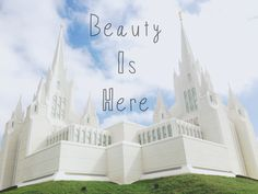San Diego temple. Lds. Beauty.