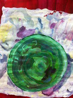 Helen Reynolds Studio Still Life A green plastic bowl that Louise was using for glue Be Still, Still Life, Plastic Bowls, Studio, Artwork, Painting, Work Of Art, Auguste Rodin Artwork, Painting Art