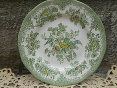 Aesthetic Pheasants and flowers in touches of green and yellow. Description from etsy.com. I searched for this on bing.com/images