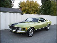 1970 Ford Mustang Mach 1 351 CI, 4-Speed