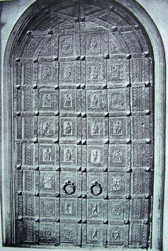 Barisano da Trani, Trani, Porta della Cattedrale 1160