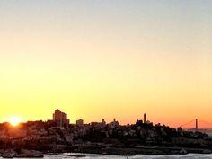 Sunset in The City, 10-7-12 (via @7x7 Magazine)