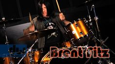 Brent Fitz - DW Collector's Series Maple/Mahogany Drums