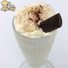 Receta de milkshake de vainilla