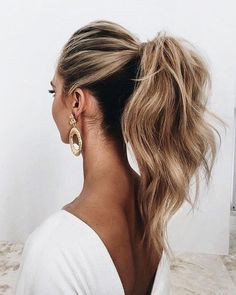 2018 Wedding Hair Trends 2018 wedding hairstyles_ponytail The post 2018 Wedding Hair Trends appeared first on Frisuren Blond. Hair Trends 2018, Wedding Hair And Makeup, Wedding Hair For Guests, Hair Ideas For Wedding Guest, Wedding Guest Updo, Wedding Favors, Easy Hairstyles, Hairstyle Ideas, Wedding Ponytail Hairstyles