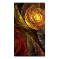 The Spiral of Life Abstract Art Business Card. I love this design! It is available for customization or ready to buy as is. All you need is to add your business info to this template then place the order. It will ship within 24 hours. Just click the image to make your own!