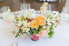 Summer Table Flowers by Laura Hingston. Summer Wedding, Wedding Day, Stunning Summer, Centerpieces, Table Decorations, Table Flowers, Wedding Table, Wedding Flowers, Floral Design