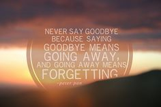 14 Best Peter Pan Images Never Say Goodbye Peter Pan Quotes