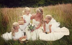 want this picture with my flower girls and ring bearer