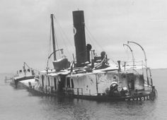 In the November 11th Armistice Day storm, 3 ships were sunk.  This one, the Novadoc, broke her back and was accounted for quickly,  Two others, the Anna C. Minch and the William B. Davock, disappeared with all hands leaving no trace.  Discovered years later, the Minch had broken in two like the Novadoc - a common story to be heard again and again with future shipwrecks on the Great Lakes.