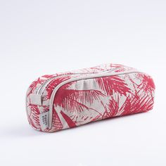 Cartuchera Angastaco, beige palmeras rojas  - comprar online