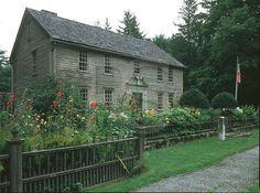 The Mission House, Stockbridge, Massachusetts.    Photo by Ronald Saari