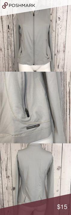 bbd4a5dd8c59 VSX Victoria s Secret women s zip up shirt Light weight shirt jacket. Very  soft and stretchy
