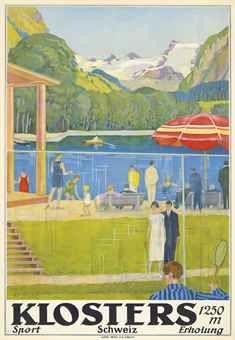 KLOSTERS, Switzerland, Edward Stiefel, 1926.