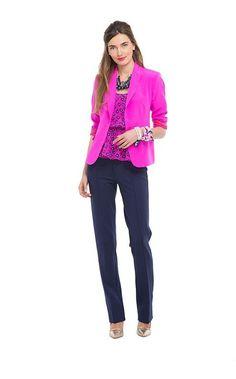 2/19 [my version] black jcrew cords, RL adena heels, grey/lemon stripe jcrew sweater, grey gap blazer
