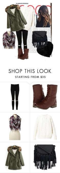 """""""Adorbs outfit for winter"""" by kaitlynthestylist on Polyvore featuring Miss Selfridge, Skechers, Lands' End and Diesel"""