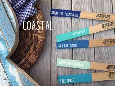 Coastal colors of Junk Gypsy Paint
