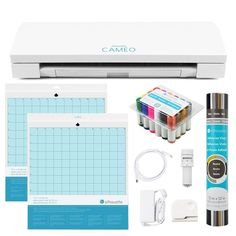 New Silhouette CAMEO 3 CRAFT BUNDLE 50% Off LIGHTNING DEAL #Silhouette