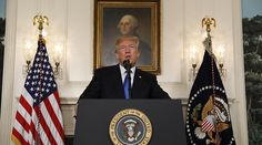 Trump Decertifies Iran Nuclear Deal, Imposes 'Tough Sanctions' on Revolutionary Guard Corps
