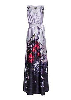 MANGO - Abendkleid mit Blumenmuster