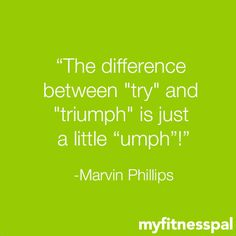 """A little """"umph"""" goes a long way"""