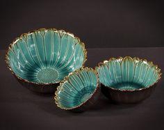 love vintage look Pottery Ideas, Pottery Art, Aqua, Teal, Turquoise, Late Bloomer, Clay Ideas, Deep Sea, Cows
