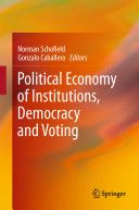 Political economy of institutions, democracy and voting.  Springer, 2011.
