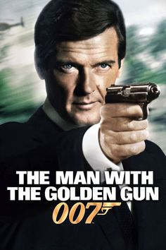 Roger Moore. James Bond. The man with the golden gun.