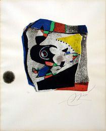 Гауди IX, 1979, Джоан Миро