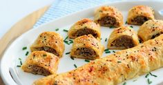 Boy are you in for a treat! These sausage rolls taste even better than they look.  The recipe was given to me by James, who was an A...