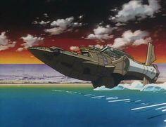The Bebop (aka Shoto and Daito's ship, the Kurosawa)
