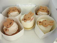 Omg! Look at these super cute kawaii animal Cakes!