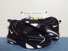 wholesale dealer 47e8d 6065f ... mens nike air max pro streak retro black white og colorway ds new with  og box