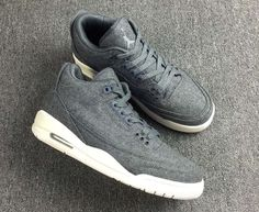 information on the upcoming Air Jordan 3 Wool colorway release 9c3d9209e8ee0