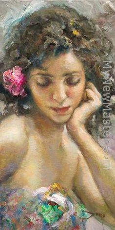 Jose Royo Romantica Painting ✿⊱╮