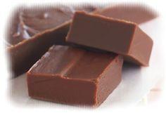 Fudge de chocolate | Mania de Receita