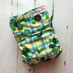 Tractors 4-in-1 :: Poopy Doo Cloth Diapers