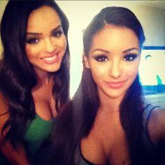 Beautiful MTV 2 Guy Code stars and real life BFFs Melanie Iglesias and Lisa Ramos 1