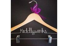 Pant clip hangers for Markets & weddings; personalised hangers; pant clip hangers; www.bridalbling.com.au